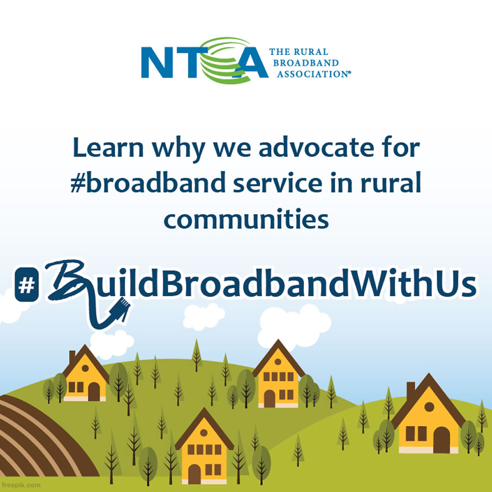 Learn why we advocate for #broadband service in rural communities