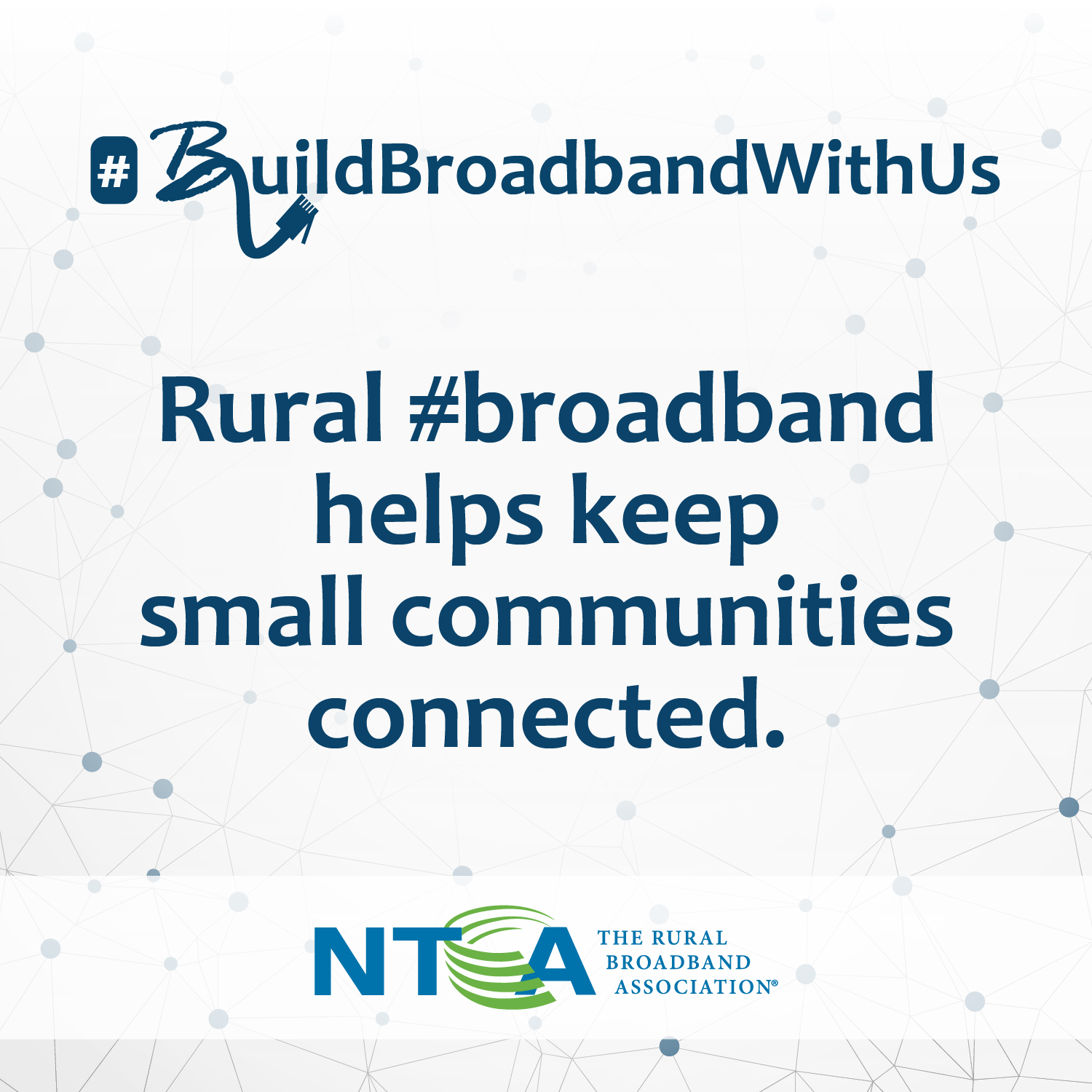 Rural broadband helps keep small communities connected.