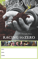 Racing to Zero Screening Poster