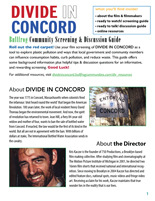 DIVIDE IN CONCORD Discussion Guide