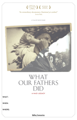WHAT OUR FATHERS DID Screening Poster