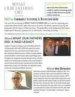 WHAT OUR FATHERS DID Discussion Guide