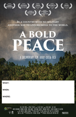 A BOLD PEACE Screening Poster