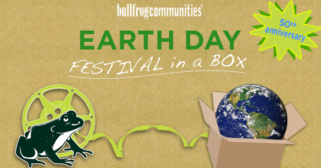 Earth Day Festival in a Box