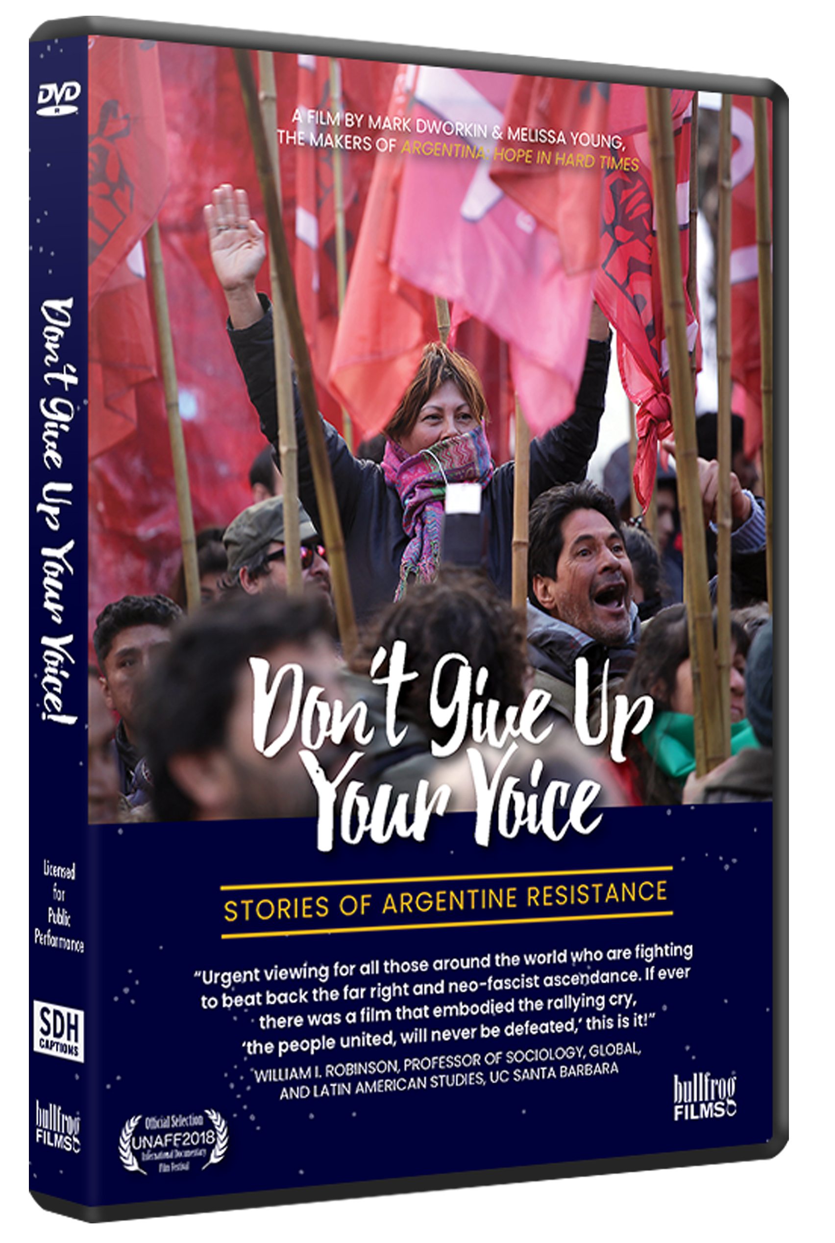 DON'T GIVE UP YOUR VOICE