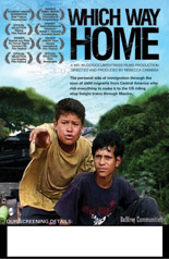 WHICH WAY HOME Screening Poster