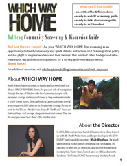 WHICH WAY HOME Discussion Guide
