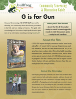 G IS FOR GUN Discussion Guide