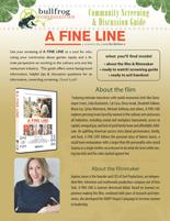 A FINE LINE  Discussion Guide