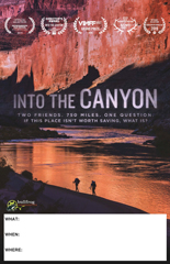 INTO THE CANYON Screening Poster
