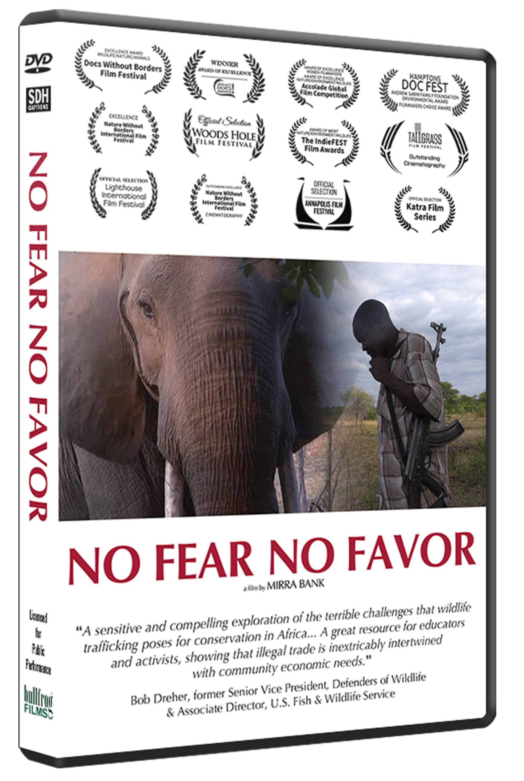 NO FEAR NO FAVOR