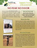 NO FEAR NO FAVOR Discussion Guide