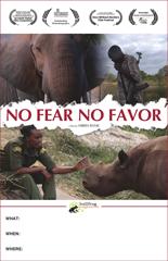 NO FEAR NO FAVOR Screening Poster