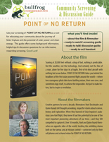 POINT OF NO RETURN Discussion Guide