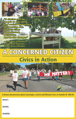 A CONCERNED CITIZEN Screening Poster