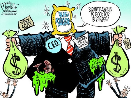 Pensacola News Journal/Andy Marlette: Big Sugar Buys Both