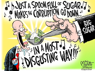 A Spoonful of Sugar, by Andy Marlette/Pensacola News Journal. Reprinted with permission.