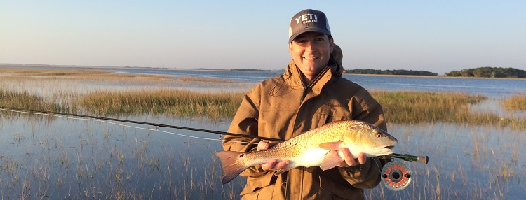Florida redfish on a fly