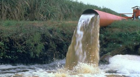 Water flowing out of sugarcane operations remains far from clean