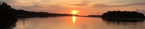 Sunrise over Florida Bay
