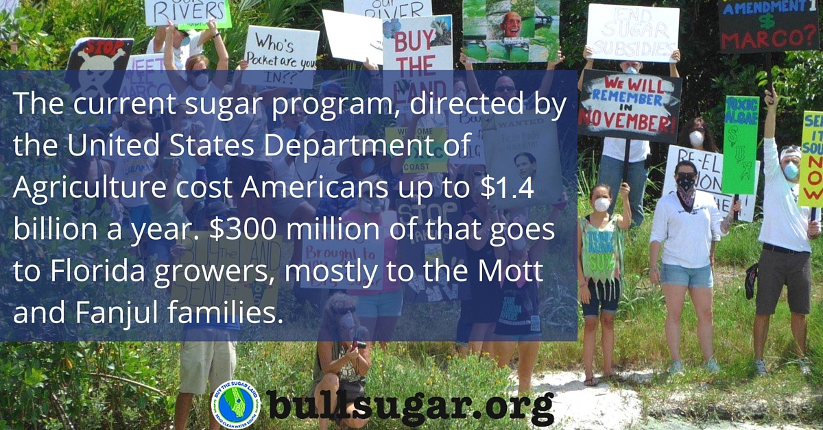 The US sugar program costs American consumers $1.4 billion every year