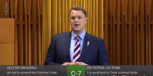 Speaking on Medical Assistance in Dying (MAiD) legislation, Bill C-7