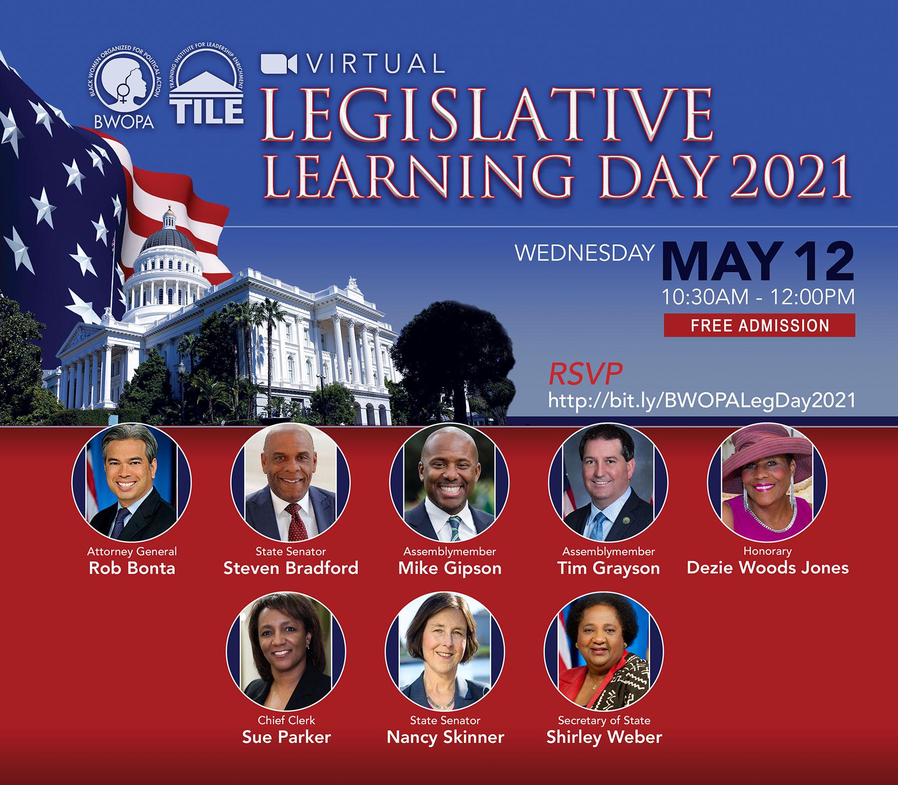 Legislative Learning Day 2021