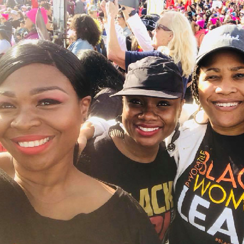 Black women at BWOPA events