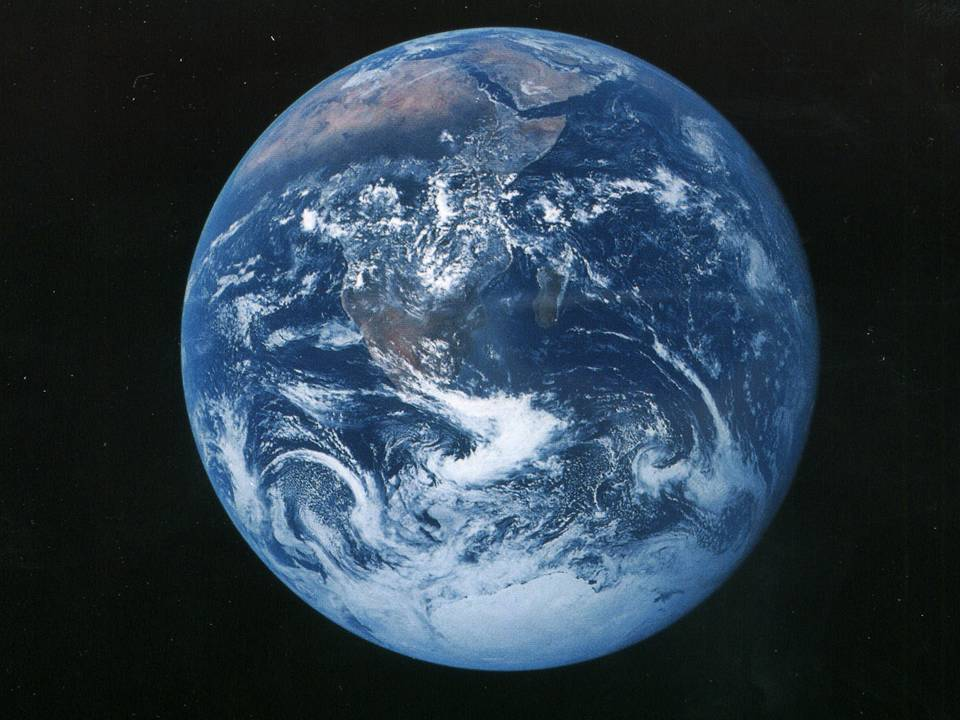 Picture of the Earth from space - from NASA