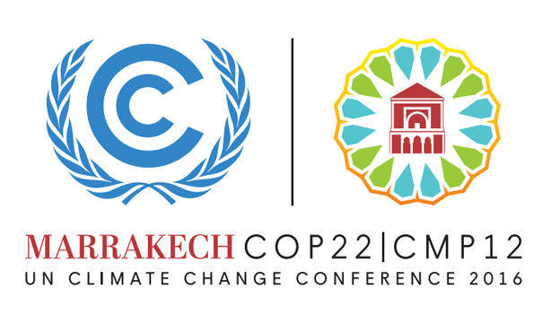 Logo for the UNFCCC COP22