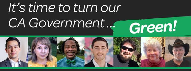 CA Greens Candidates 2020
