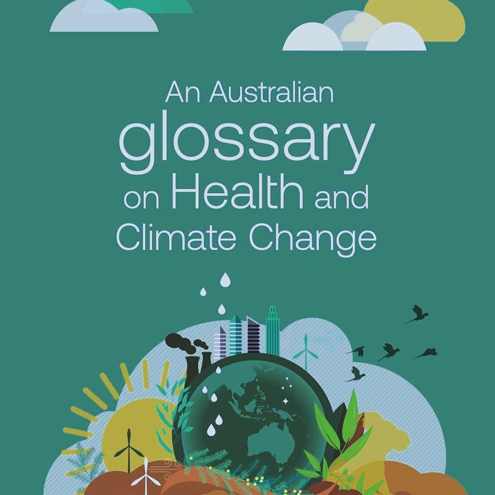 Cover of the Glossary on Health and Climate Change
