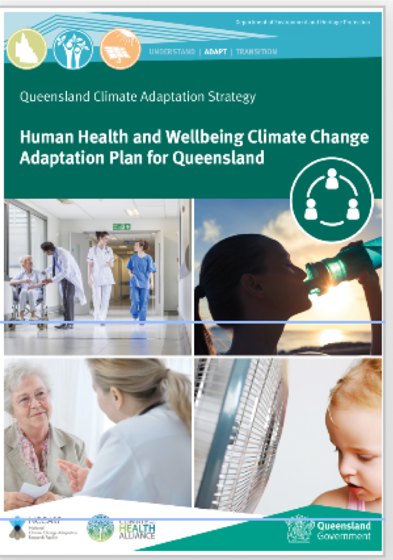 Health and Wellbeing Climate Adaptation Plan (H-CAP) for QLD
