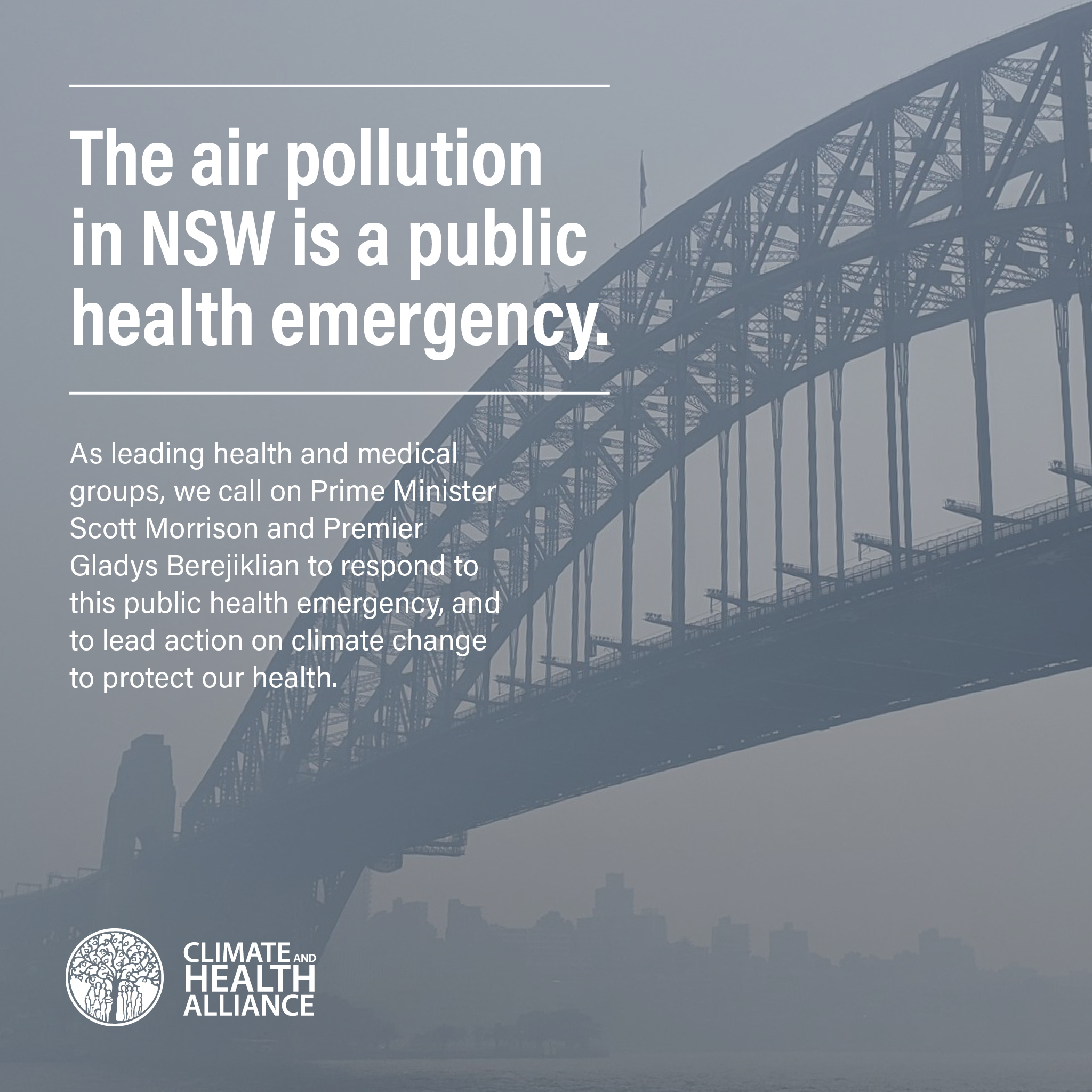 NSW air pollution is a public health emergency
