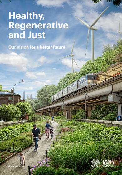 Cover of Healthy, Regenerative and Just agenda policy