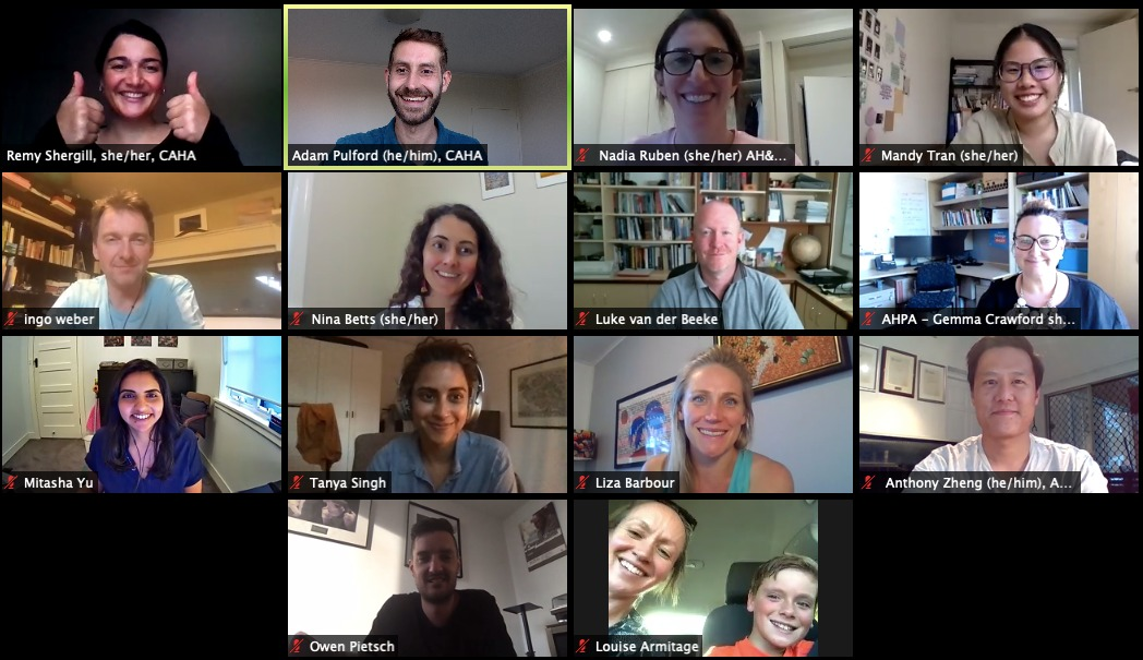 CAHA's online media training, December 2020