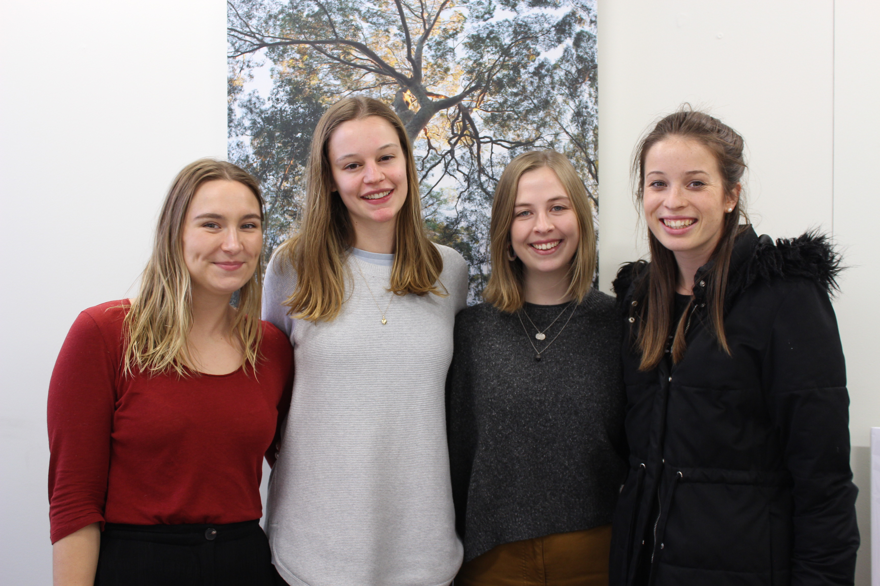 CAHA Volunteers during Volunteer Week 2019