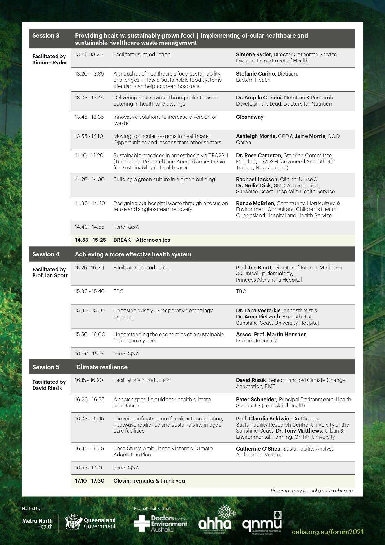 Page 2: Program