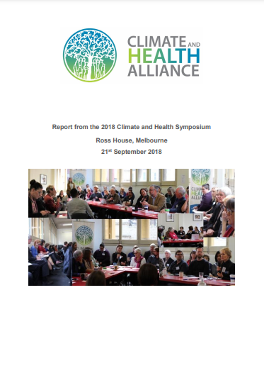 Report: Climate and Health Symposium
