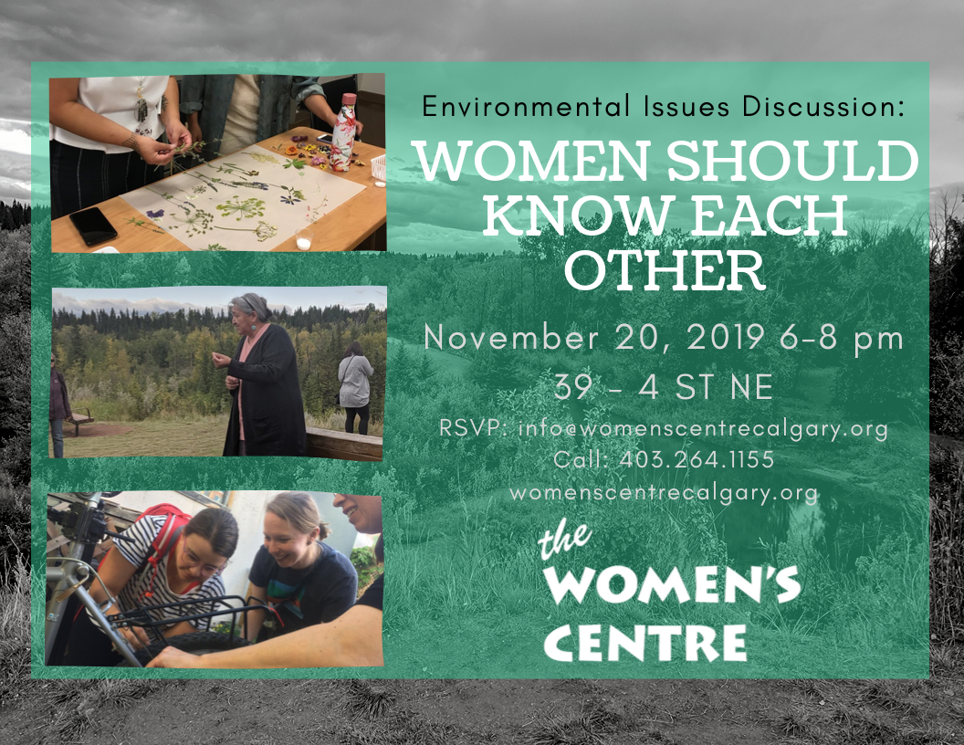 Environmental Issues Discussion: Women Should Know Each Other