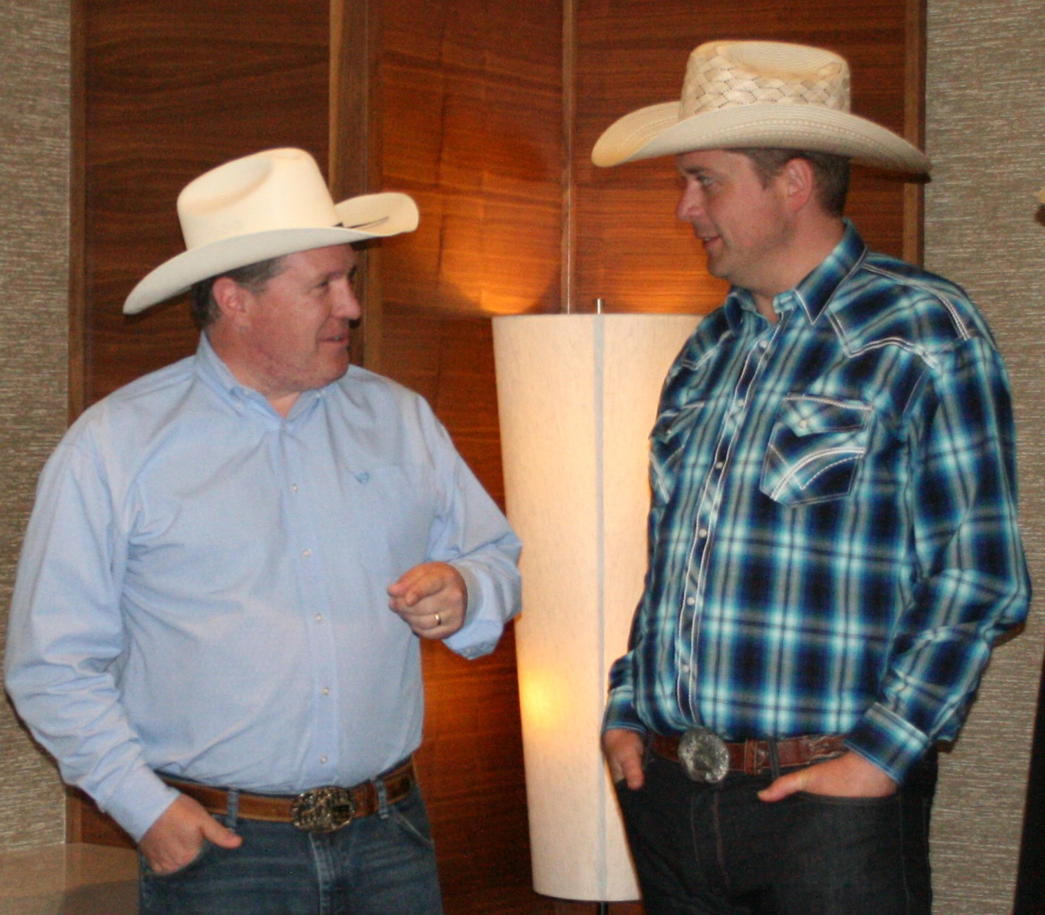 Pat Kelly and Andrew Scheer