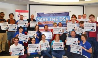 Anglia Ruskin students DSA campaign