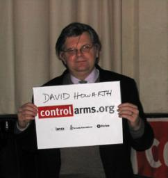 David Howarth signing million faces petition