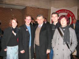 David Howarth meets Cambridge students after local No2ID meeting