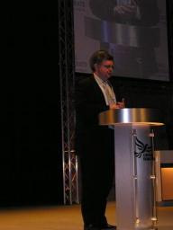 David Howarth addressing Conference in Harrogate