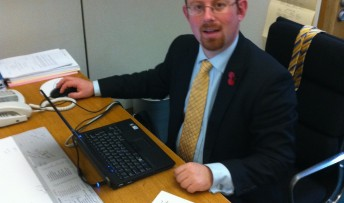 Julian-at-desk-in-Westminster