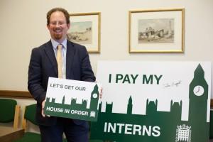 Huppert making sure interns get paid