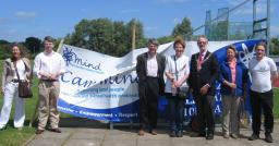 David Howarth MP with Cllrs Dixon, McGovern, Wilkins.