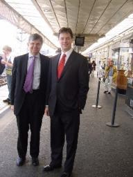 Nick Clegg and David Howarth
