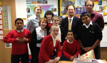Shirley School visit